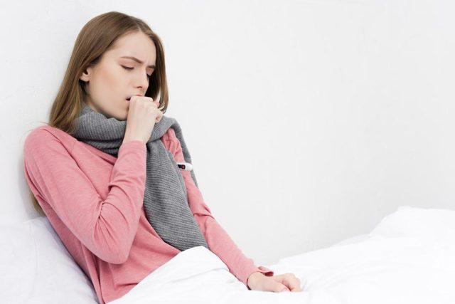 Нужно принимать антибиотики при сухом кашле на протяжении 3 недель?